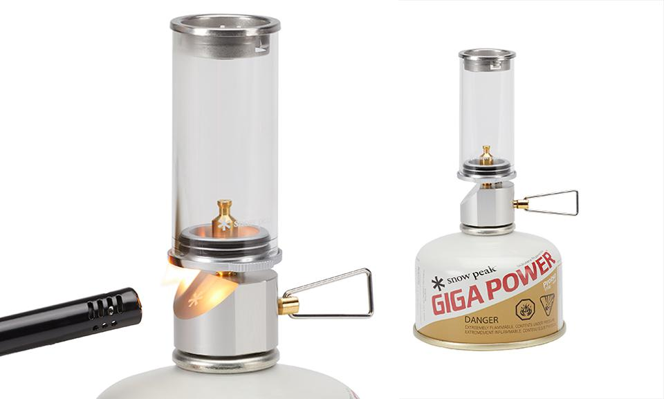 Snow Peak Mini Flame Gas Lantern Attachment