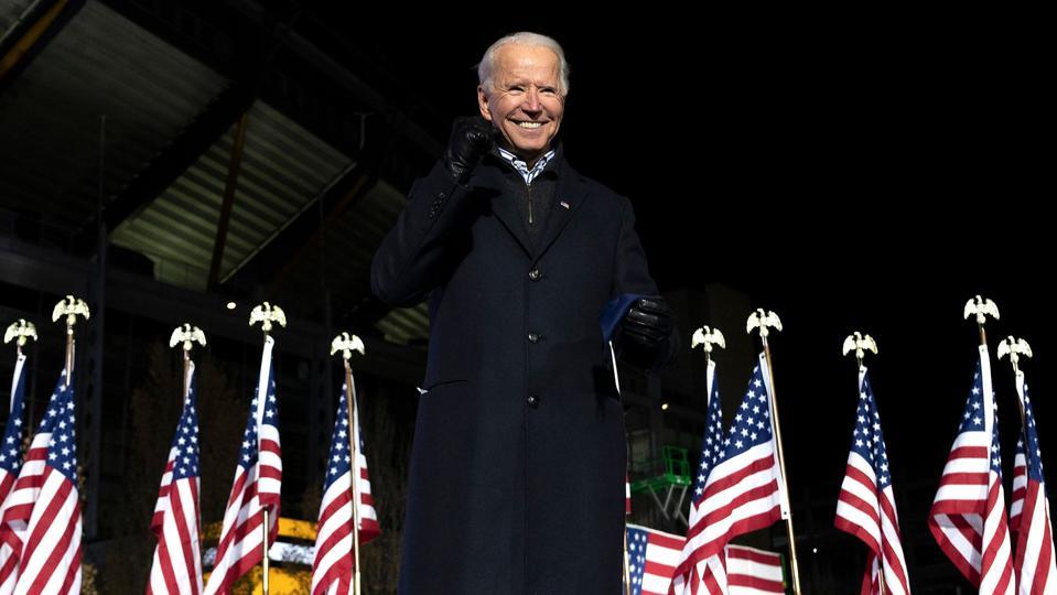 Biden at rally in Pennsylvania