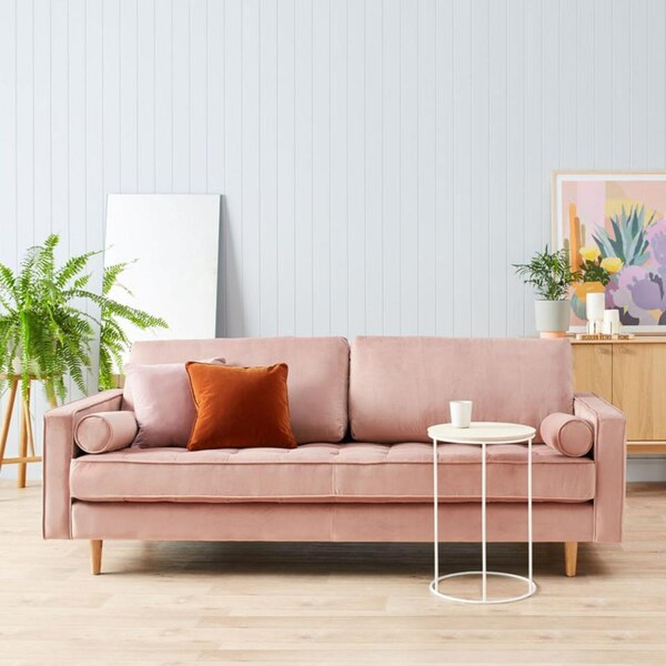 AllModern 84″ Wide Square Arm Sofa