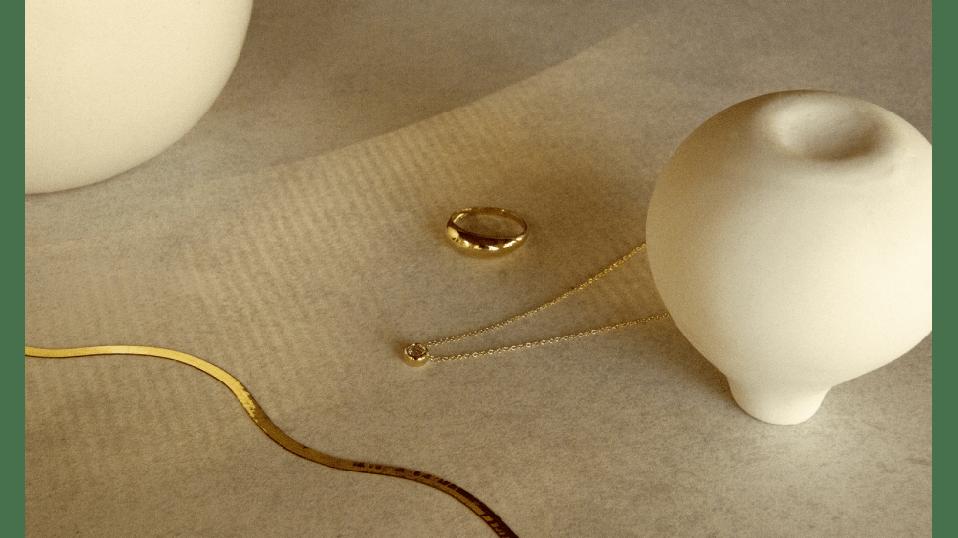 Mejuri jewelry