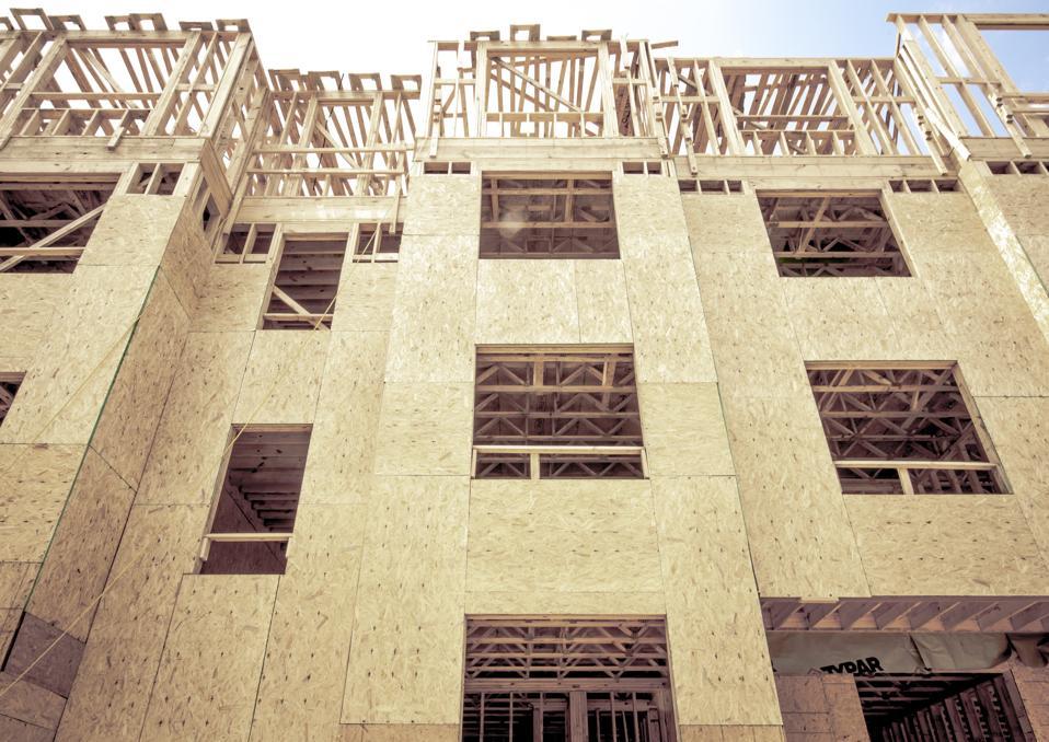 Wood Frame Modern Apartments