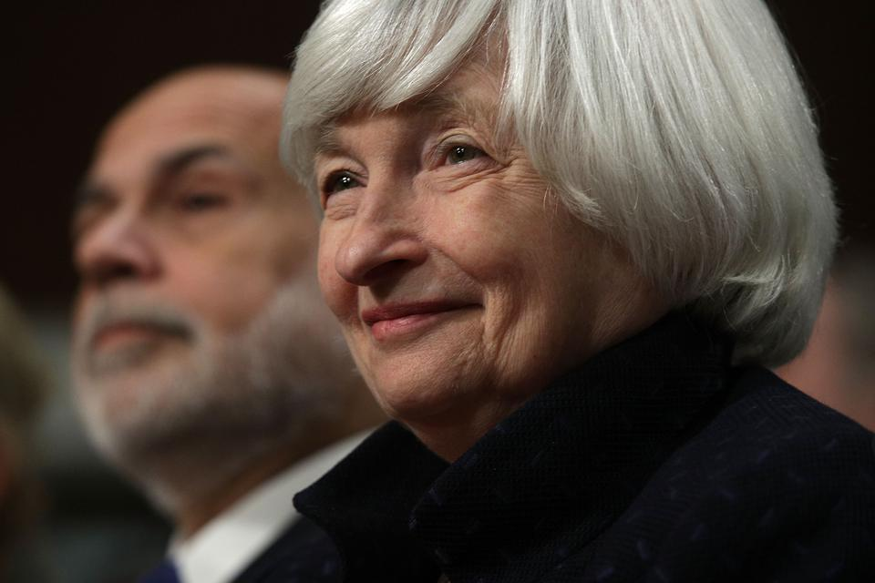 Federal Reserve Chair Janet Yellen Accepts Paul H. Douglas Award For Ethics In Government On Capitol Hill