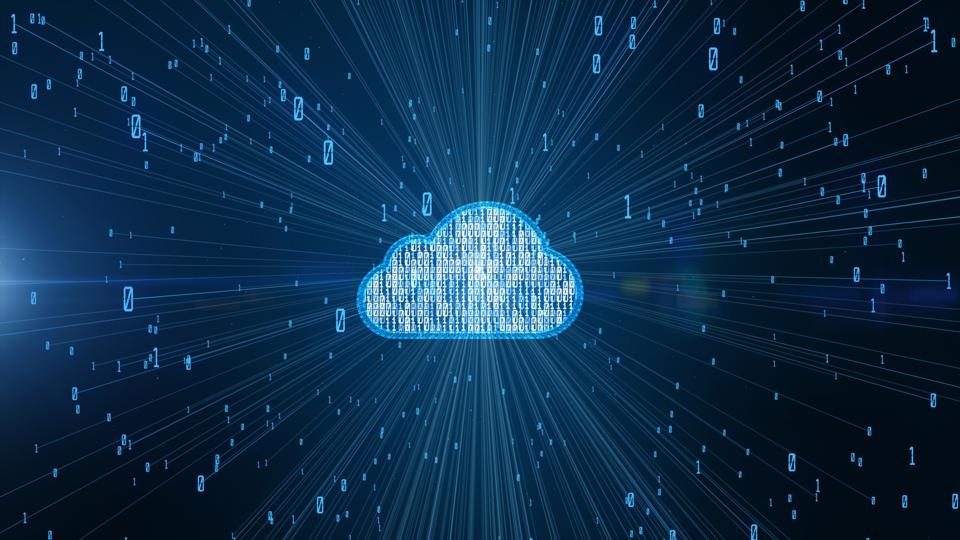 Cyber security digital data and conceptual futuristic information technology of big data cloud computing using artificial intelligence AI