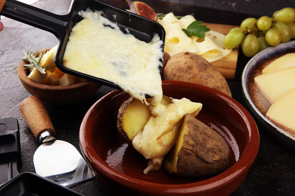 Sales of raclette cheese are in record figures in lockdown