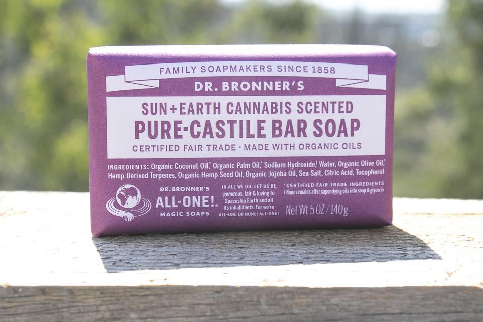 Dr. Bronner's, Sun+Earth Certified, cannabis culture, cannabis soap, organic cannabis