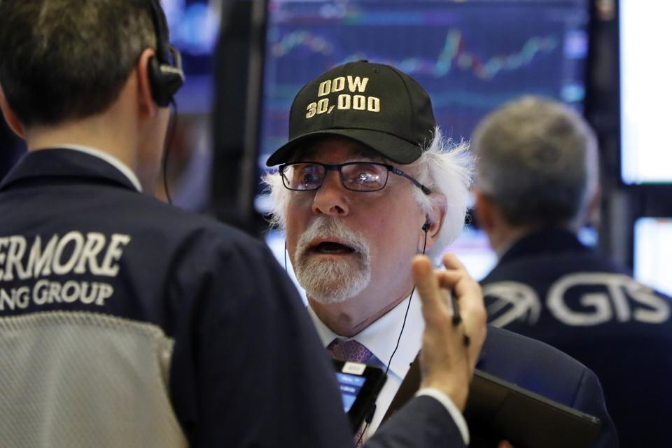 Dow Jones Industrials hitting 30,000