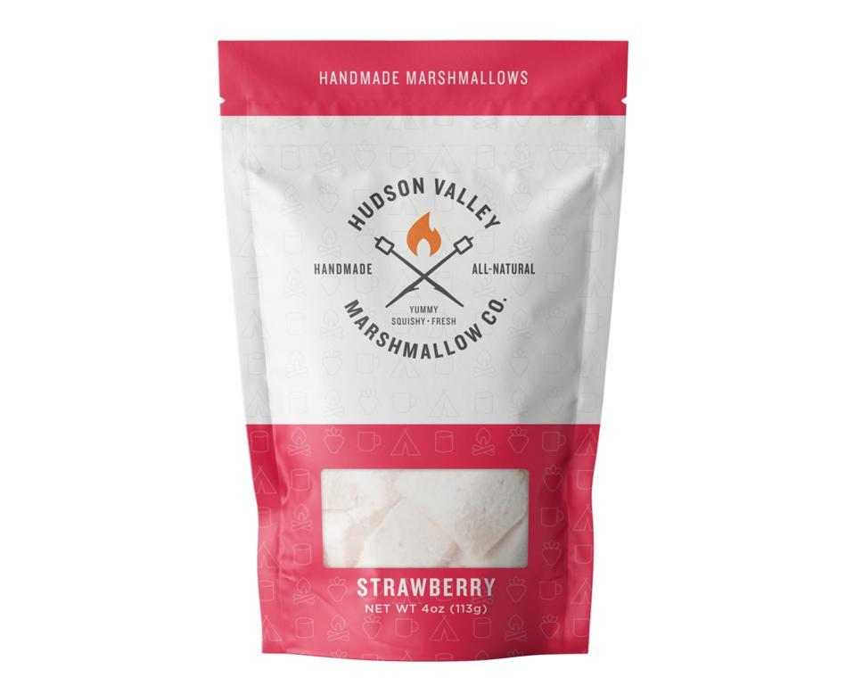 Hudson Valley Marshmallow Company strawberry handmade