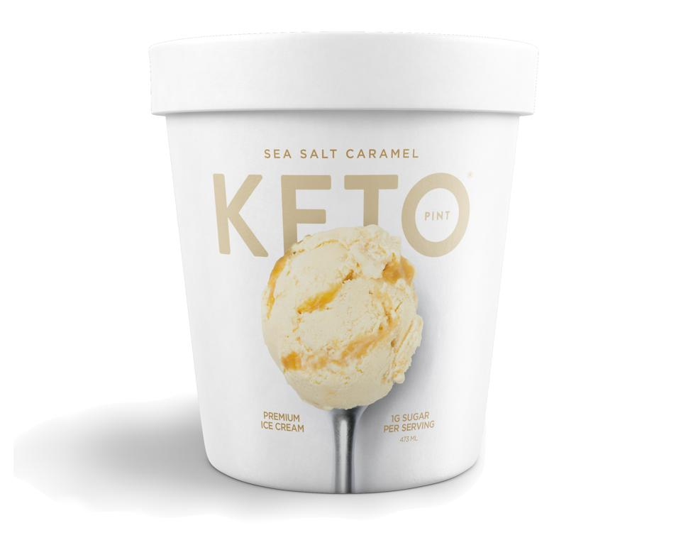 Keto Pint No Sugar Added Ice Cream