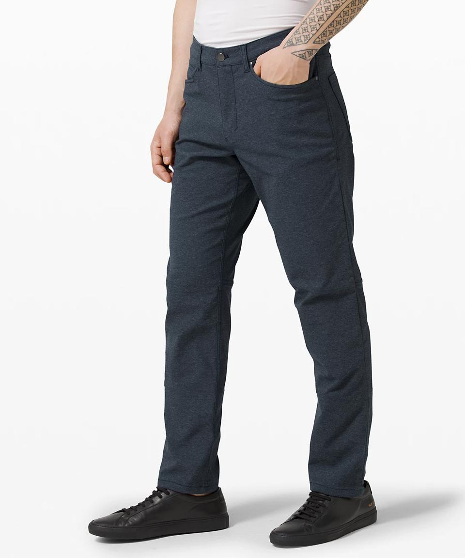 ABC Pant Classic 34″ Tech Canvas in navy.