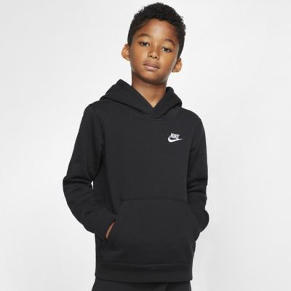 Nike Kids logo hoodie.