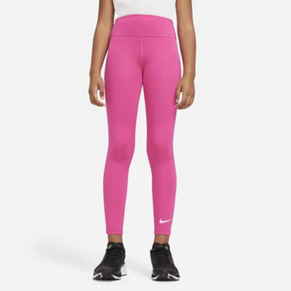 Nike pink girls training tights.