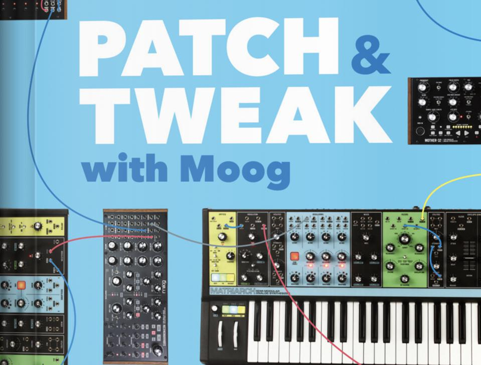Cover of Patch & Tweak with Moog book