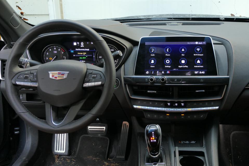 Cadillac CT5-V dashboard