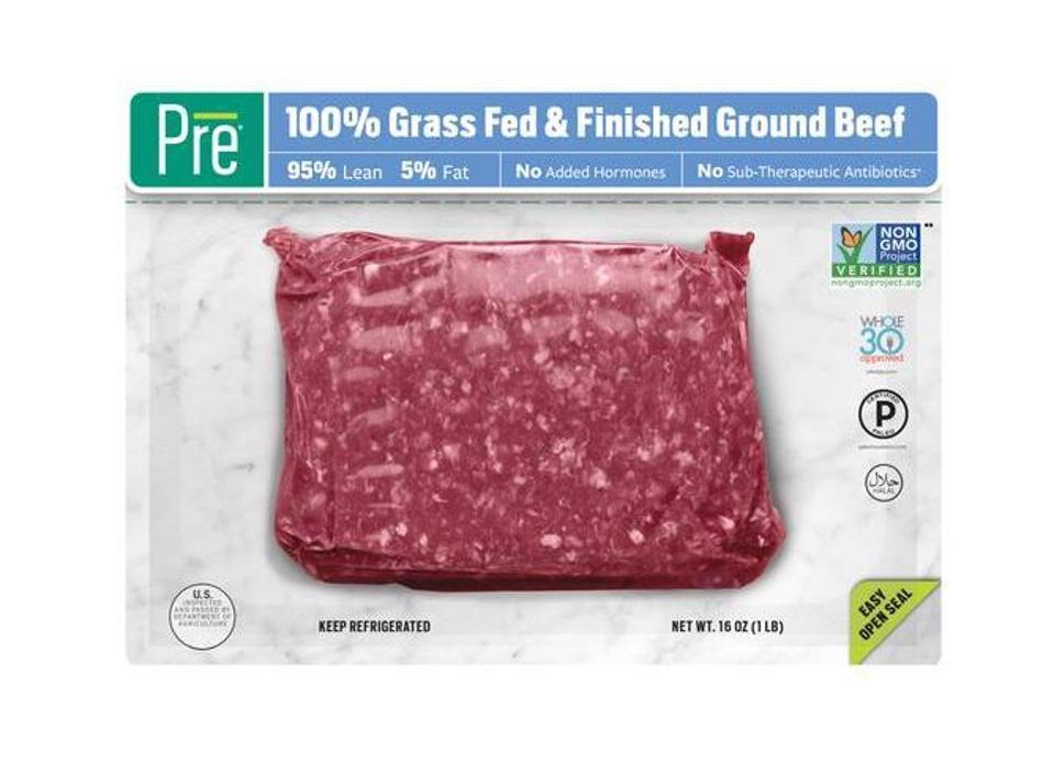 Pre Grass-fed beef & lamb New Zealand Australia non gmo whole 30