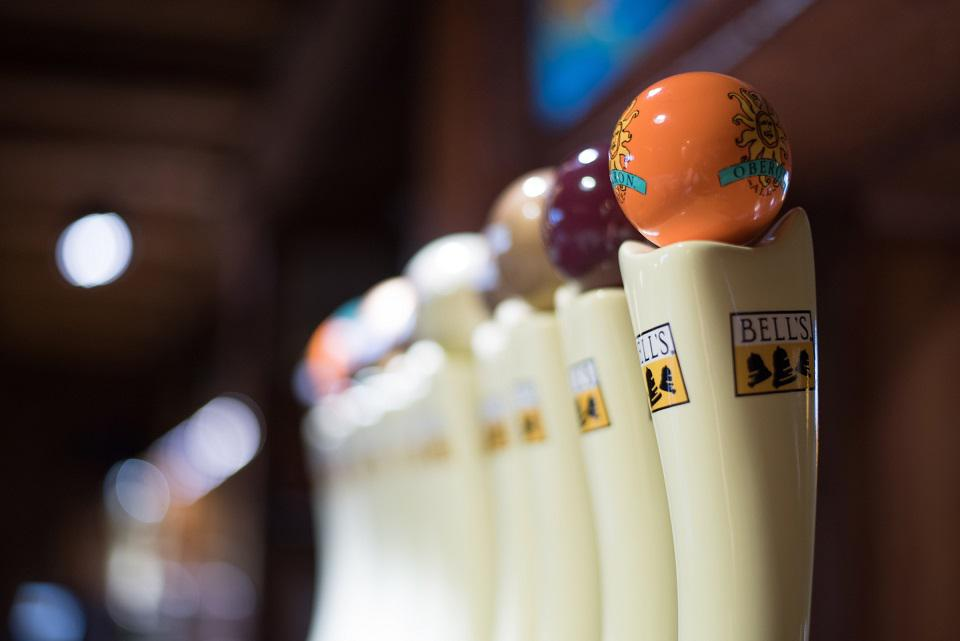 Bell's iconic tap handles