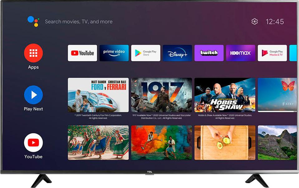 TCL 50″ 4 Series LED 4K Smart Android TV