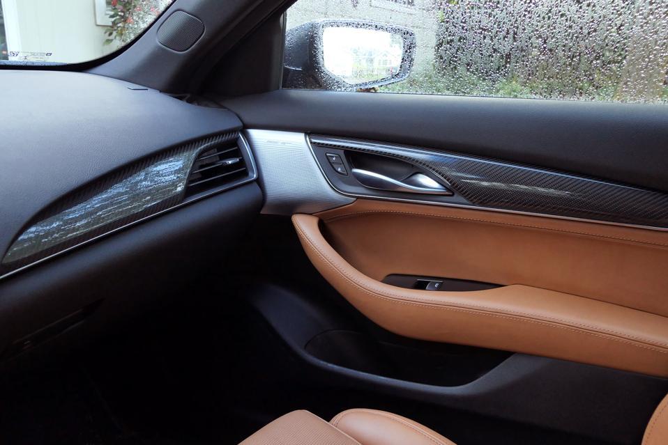 Cadillac CT5-V interior.