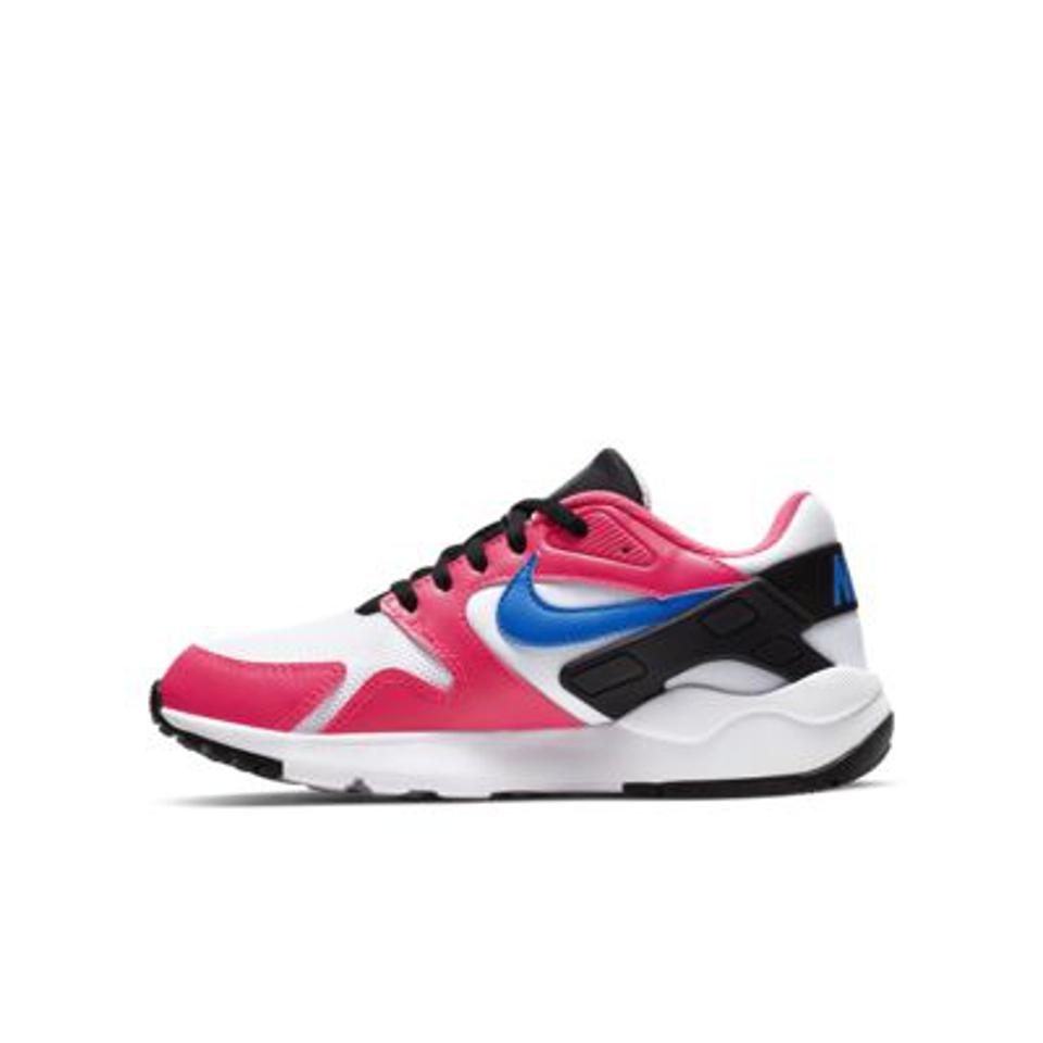 Kids Nike LD Victory in pink and blue.