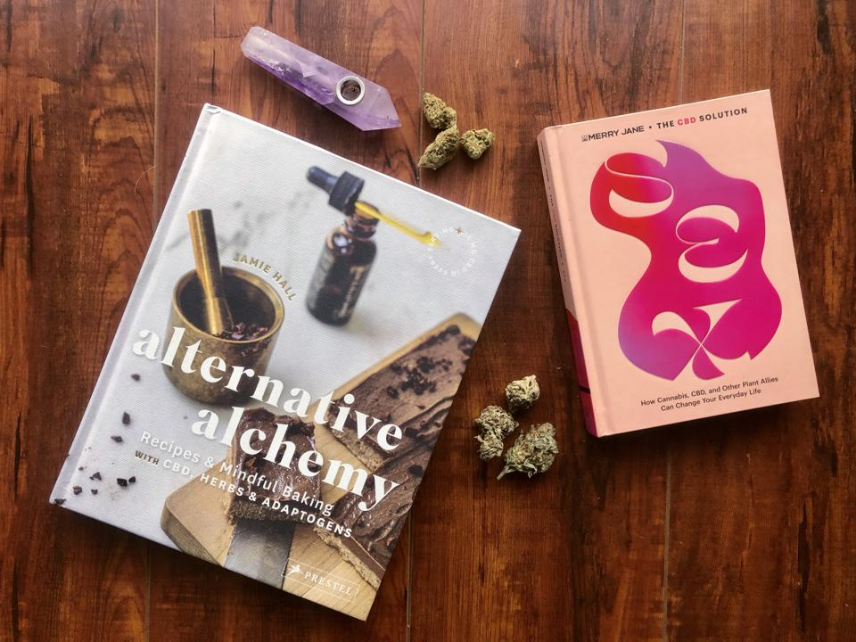 Two books, Alternative Alchemy, and The CBD Solution.