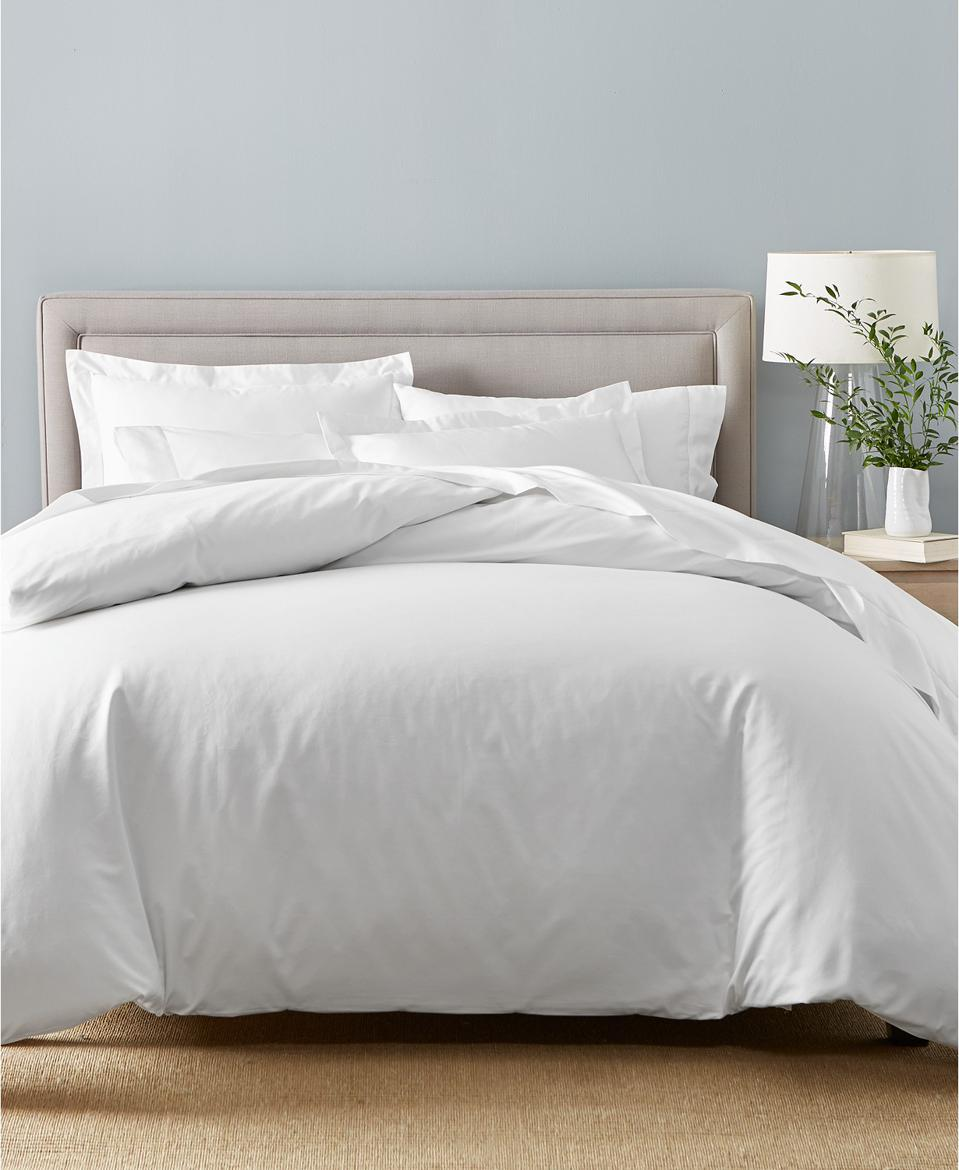 Charter Club Damask Supima Cotton 550-Thread Count 3-Pc. Full/Queen Duvet Cover Set