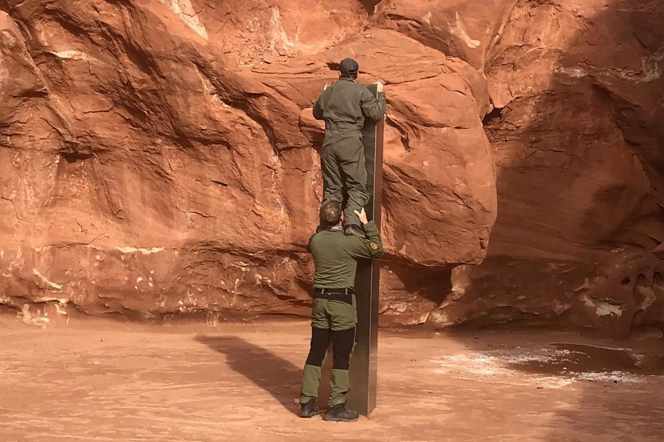 Mysterious Monolith Utah