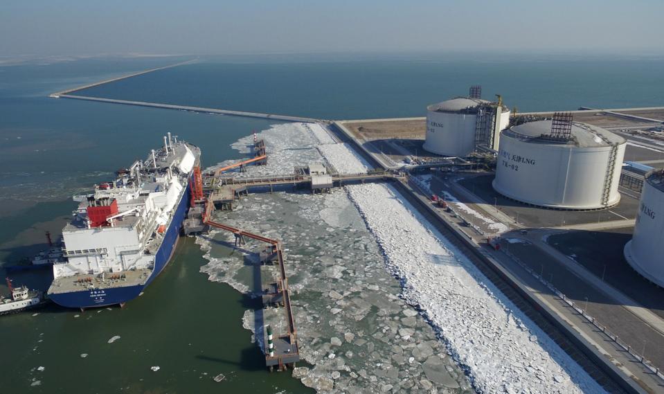 La terminal de Sinopec Tianjin recibe la primera carga de GNL