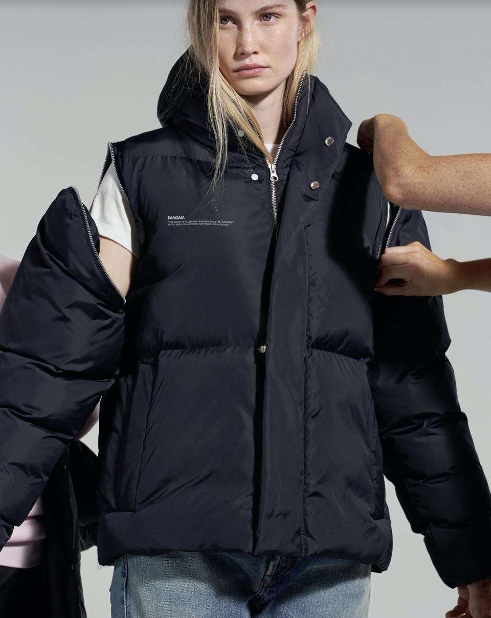 Short puffer jacket created for performance and durability