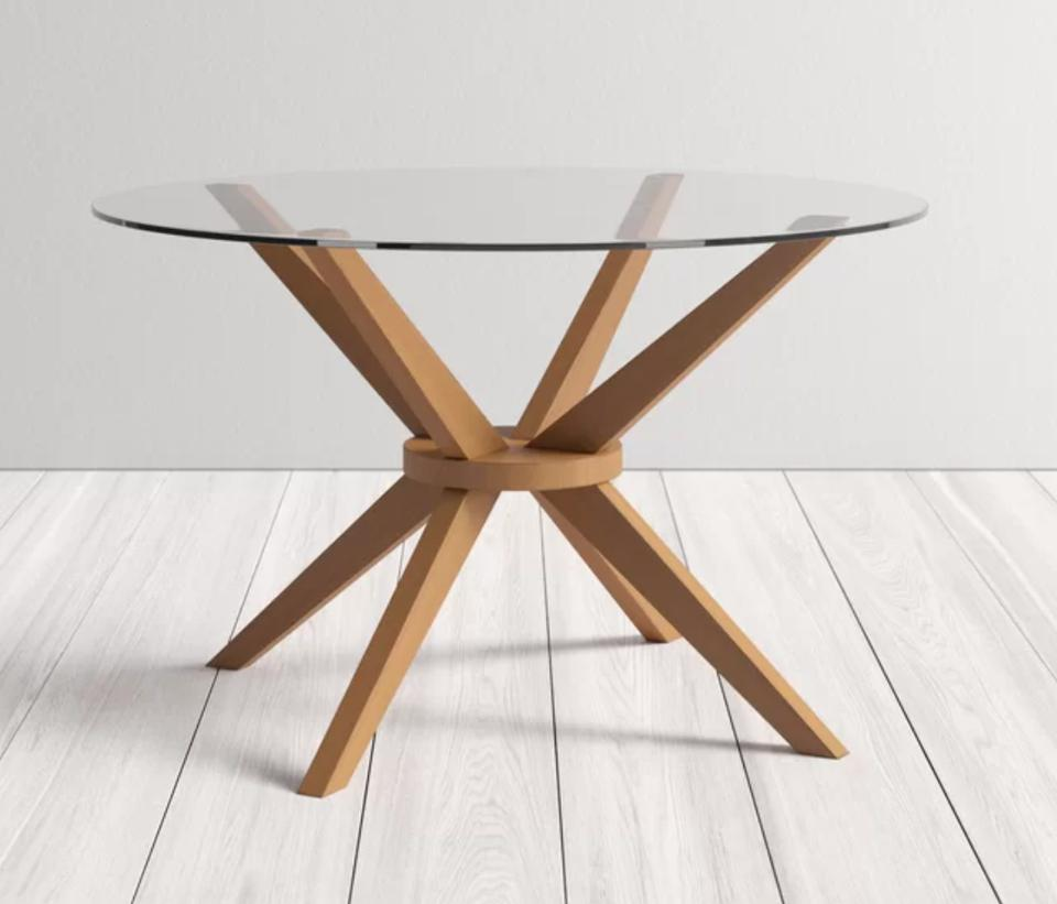 Rox Solid Wood Dining Table