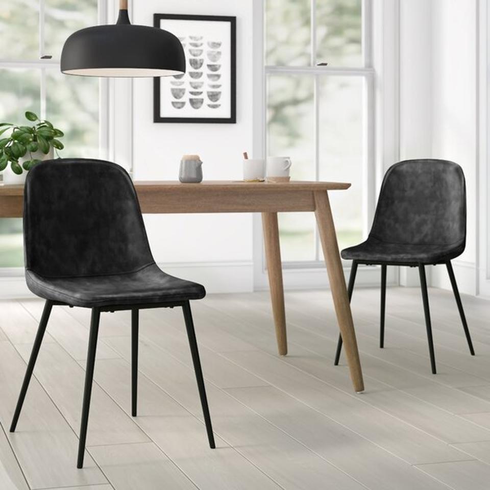 AllModern Kori Upholstered Side Chair (Set of 2)
