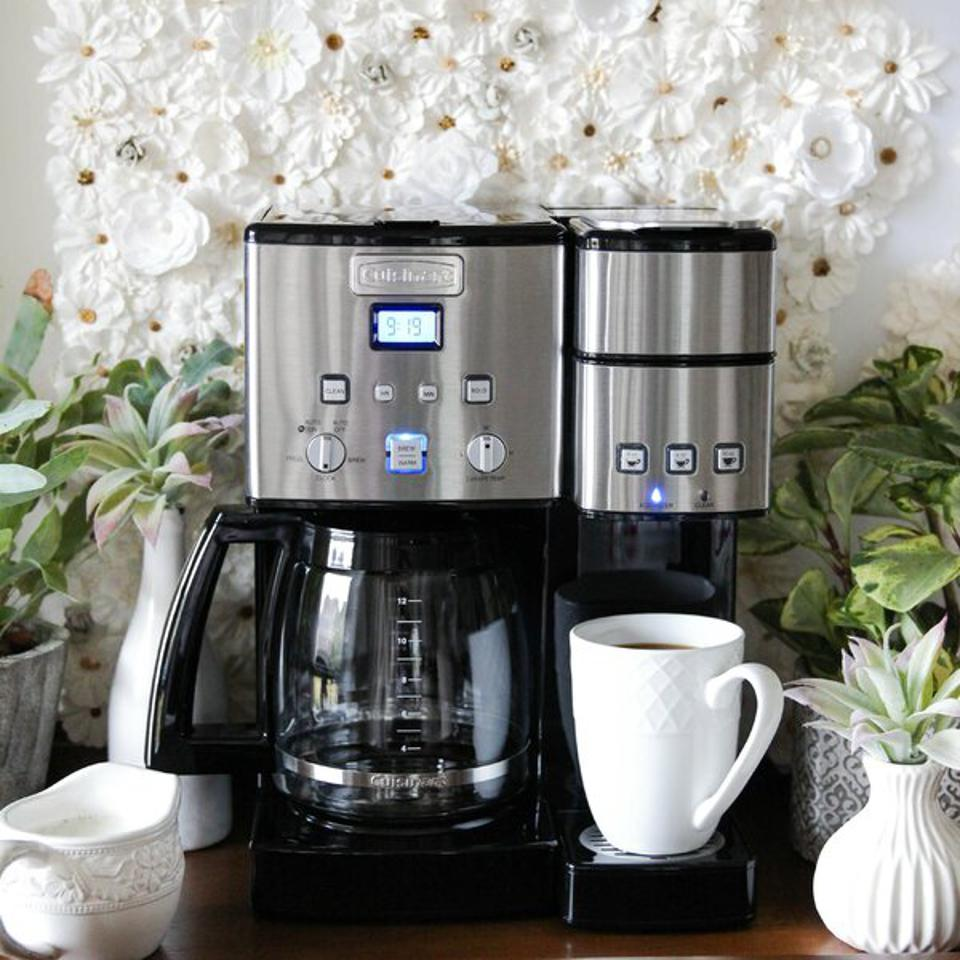 Cuisinart Coffee Center 12 Cup Coffeemaker and Single-Serve Brewer