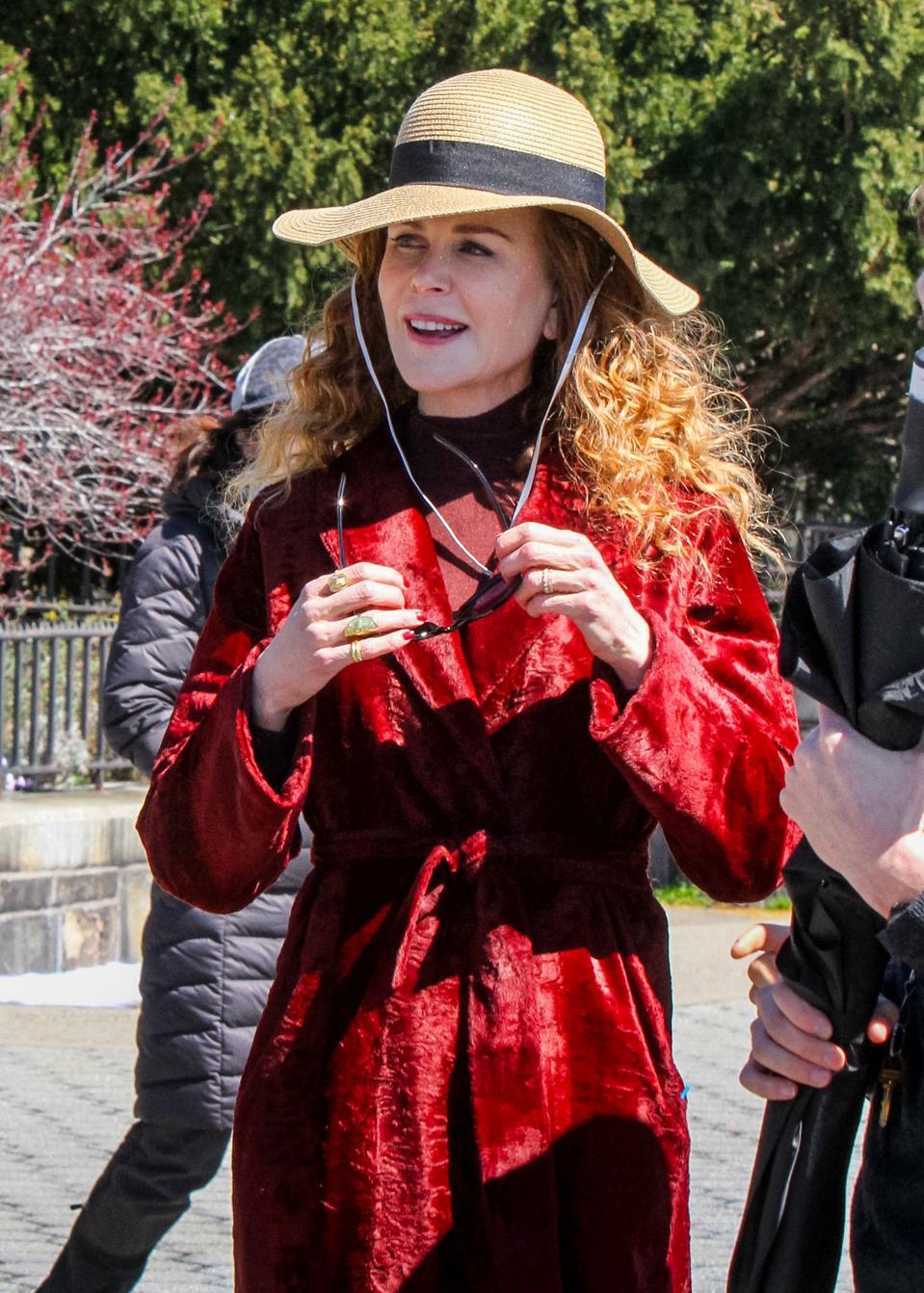 Celebrity Sightings In New York - April 16, 2019