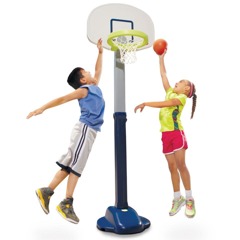 Little Tikes Adjust 'n Jam Pro Basketball Set
