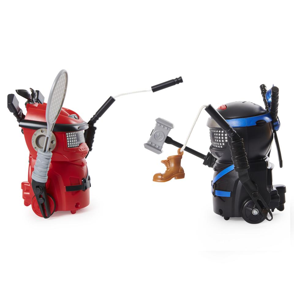 Ninja Bots 2-Pack, Hilarious Battling Robots