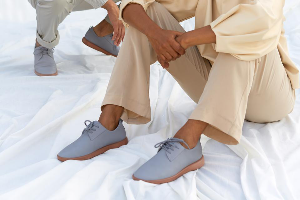 Ponto shoes are made from recycled materials and biodegradable plant-based soles.
