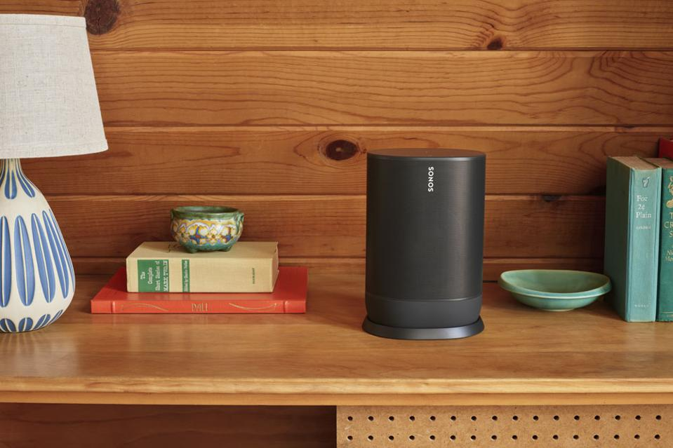 Save $100 on the new Sonos Move speaker.