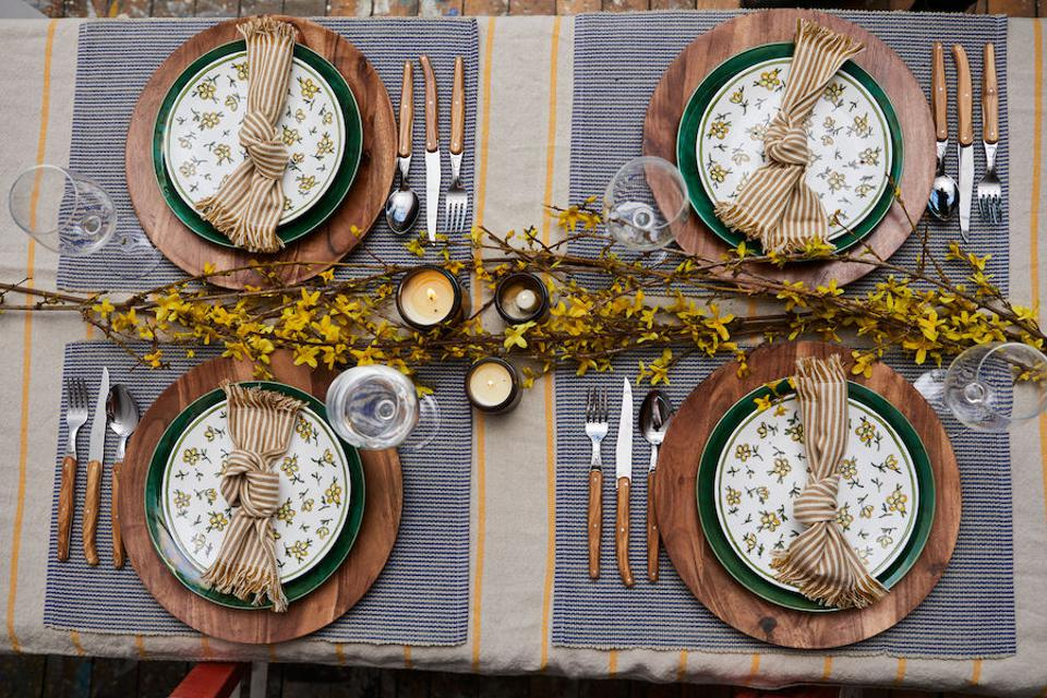 Molly Hatch tablescape