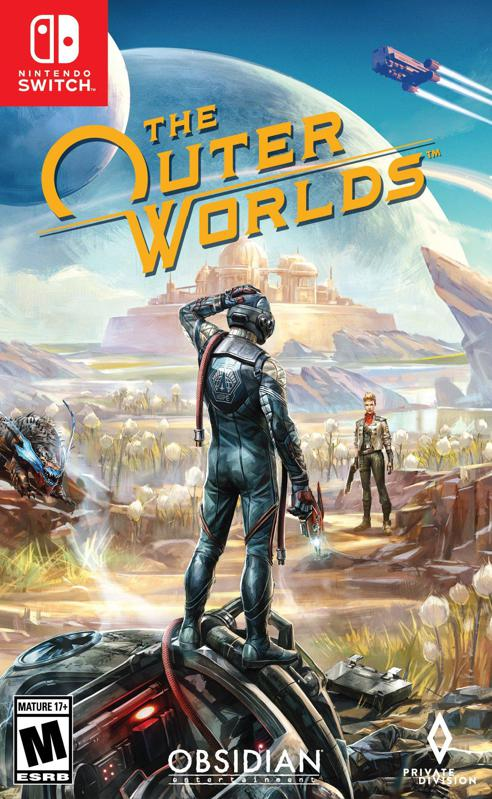 The Outer Worlds for Nintendo Switch retail box art