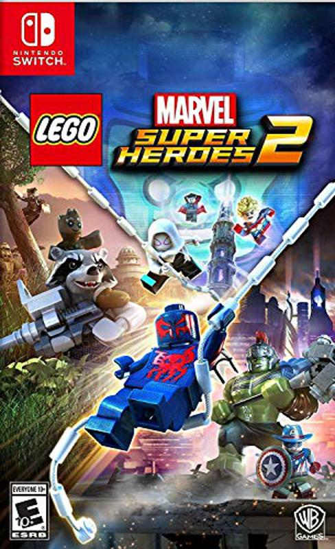 Lego Marvel Superheroes 2 for Nintendo Switch retail box art