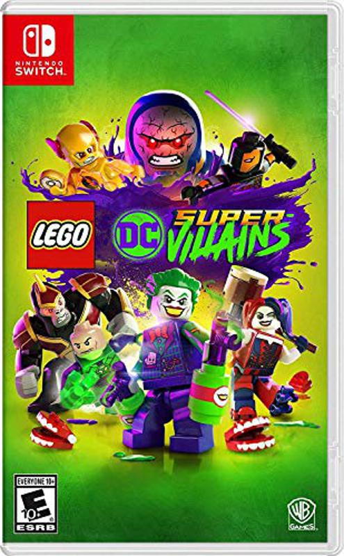 Lego DC Super-Villains for Nintendo Switch retail box art