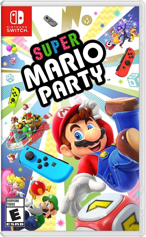 Super Mario Party for Nintendo Switch retail box art