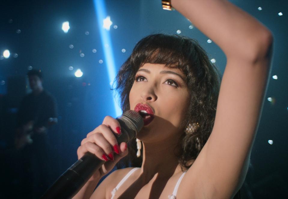 Christian Serratos stars as Selena.