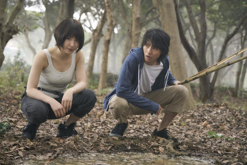 Tao Tsuchiya and Kento Yamazaki in 'Alice in Borderland' premiering soon on Netflix.