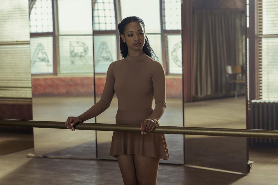 Kylie Jefferson stars as a young ballerina who is about to see the darkest sides of competition in 'Tiny Pretty Things' on Netflix.