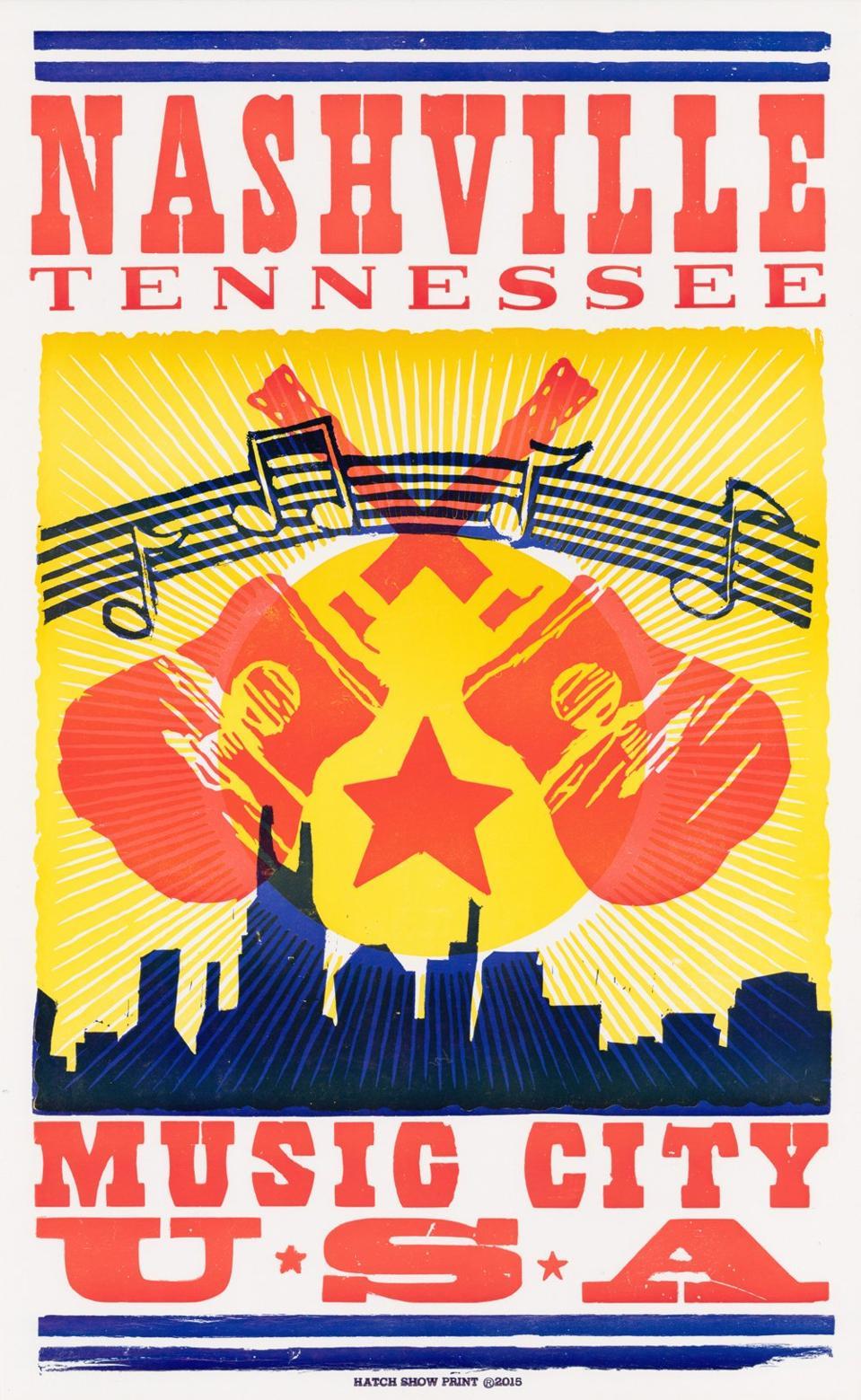 Music City Hatch Poster