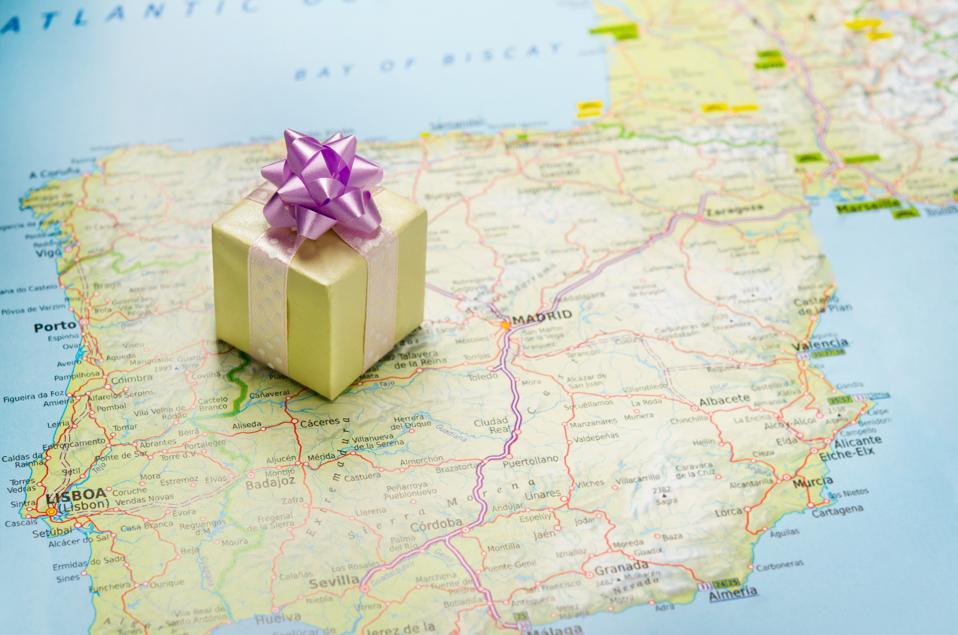 Bon voyage gift