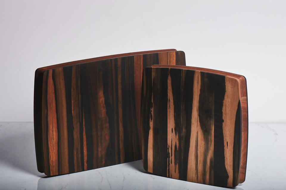 Cutting board from wood of Taylor Guitars.