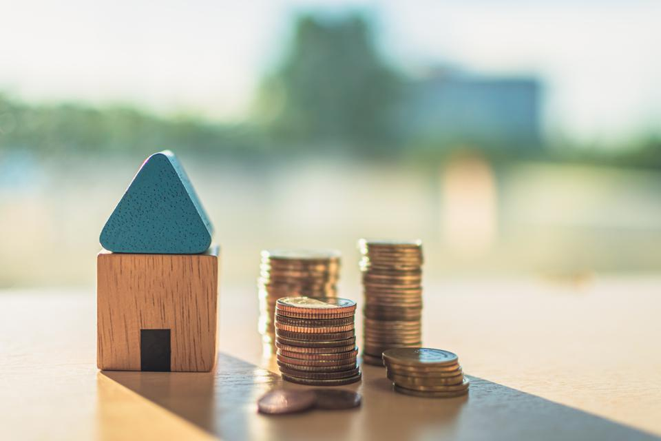 Home concept,Home savings,Selling home,Money and house
