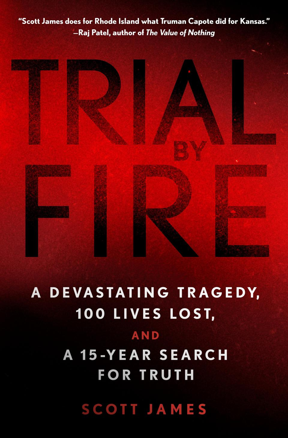 Cover of 'Trial by Fire' by Scott James.
