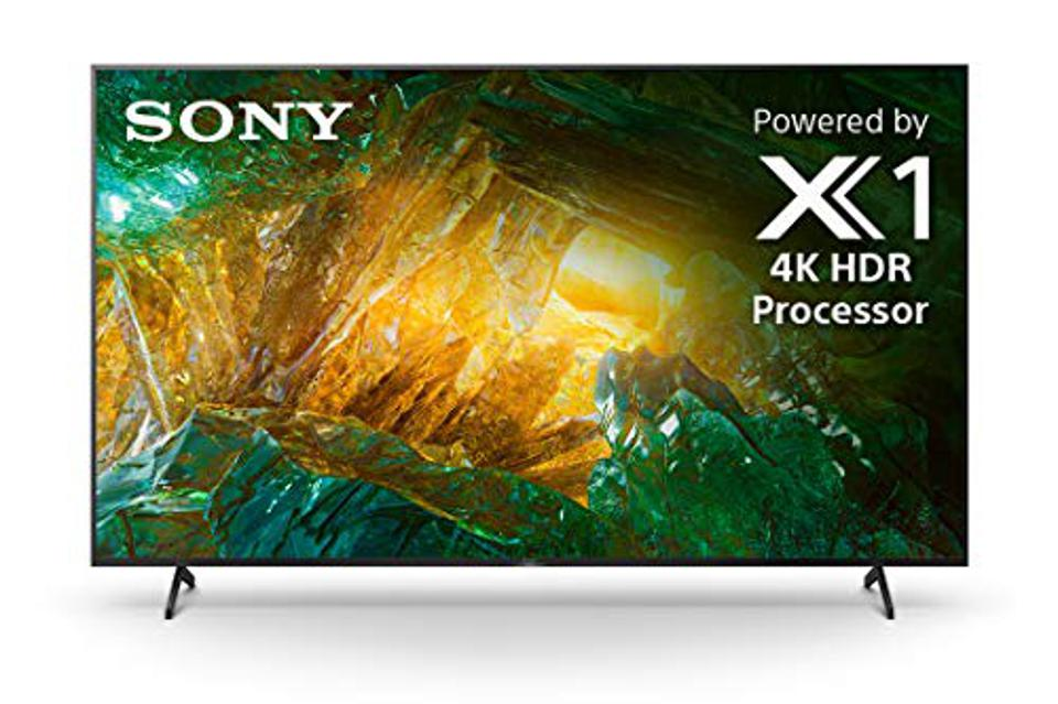 Sony X800H 65 Inch TV: 4K Ultra HD Smart LED TV with HDR and Alexa Compatibility - 2020 Model