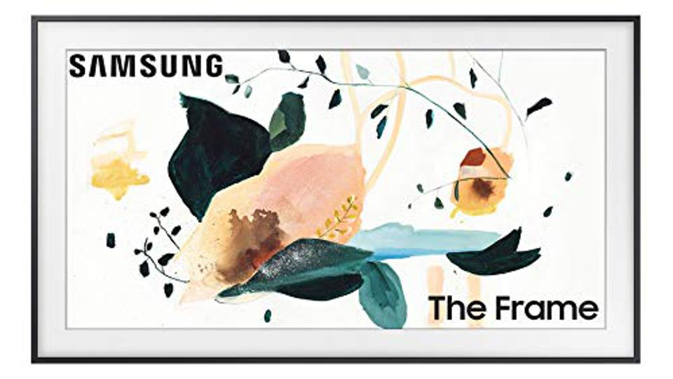 SAMSUNG 43-inch Class FRAME QLED LS03 Series - 4K UHD Dual LED Quantum HDR Smart TV with Alexa Built-in